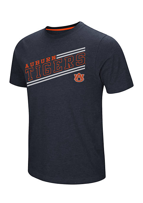 Colosseum Athletics Auburn Tigers Fly Ball Short Sleeve