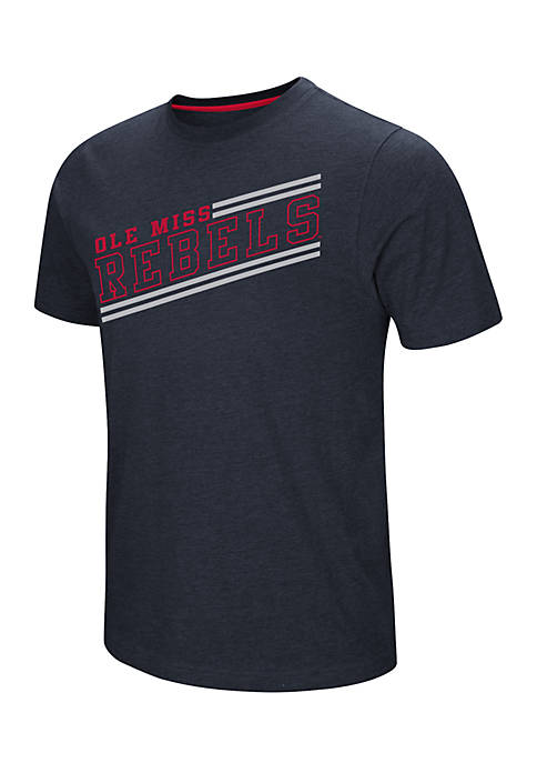 Colosseum Athletics Short Sleeve Ole Miss Fly Ball