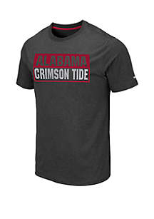 Colosseum Athletics Alabama Crimson Tide Auchland Tee
