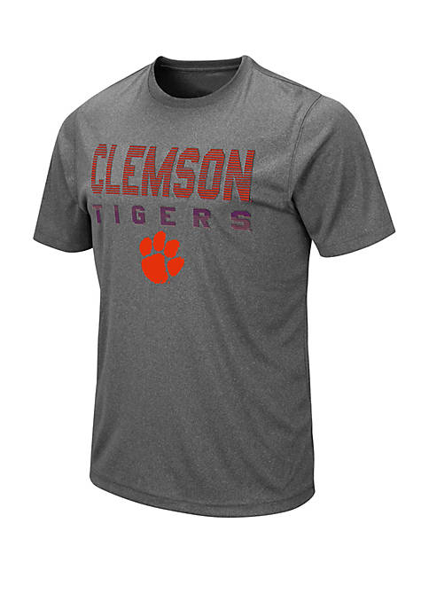 Colosseum Athletics NCAA Clemson Tigers Flanders Short Sleeve