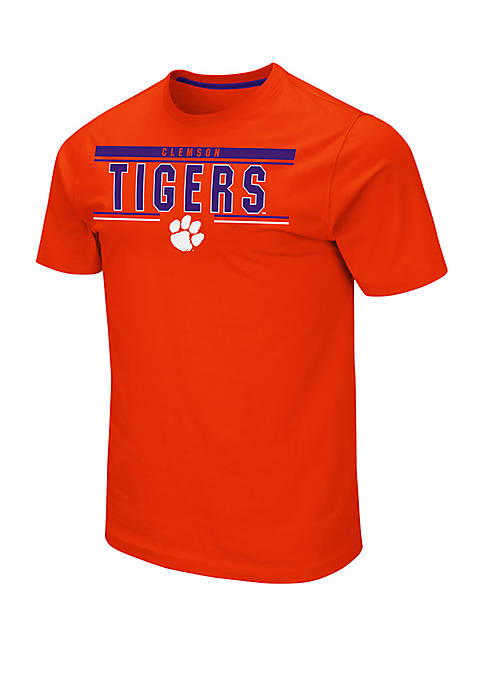 Colosseum Athletics Clemson Tigers Short Sleeve T Shirt