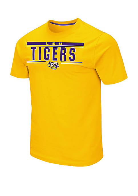 Colosseum Athletics LSU Tigers Short Sleeve T Shirt