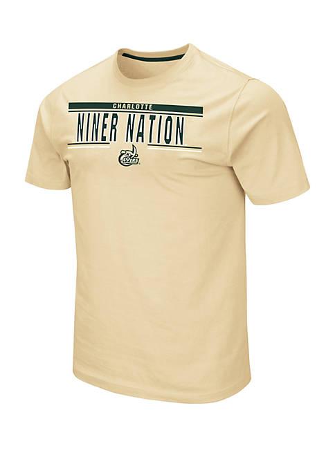 NCAA Charlotte 49ers Moes Short Sleeve T-Shirt