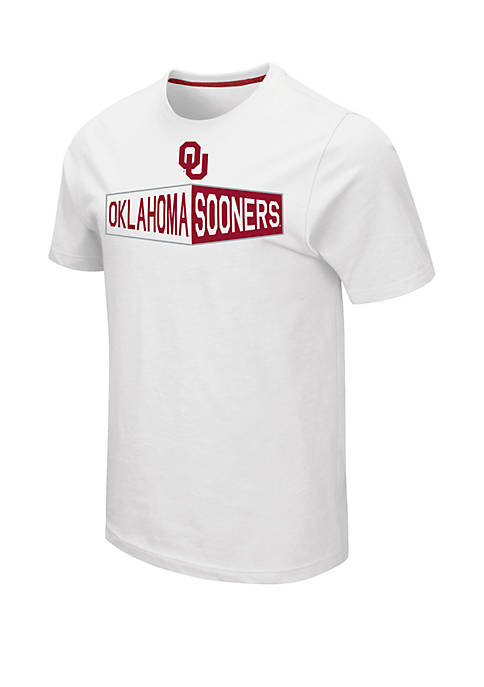 Colosseum Athletics NCAA Oklahoma Sooners Ralph Short Sleeve