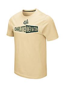 Colosseum Athletics NCAA Charlotte 49ers Ralph Short Sleeve T-Shirt