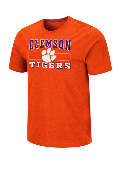 Colosseum Athletics Mens NCAA Clemson Tigers Swanson Short