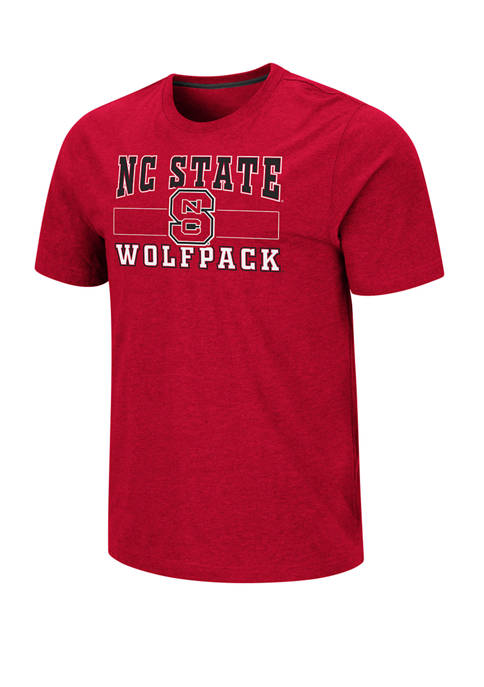 Mens NCAA NC State Wolfpack Swanson Short Sleeve Graphic T-Shirt
