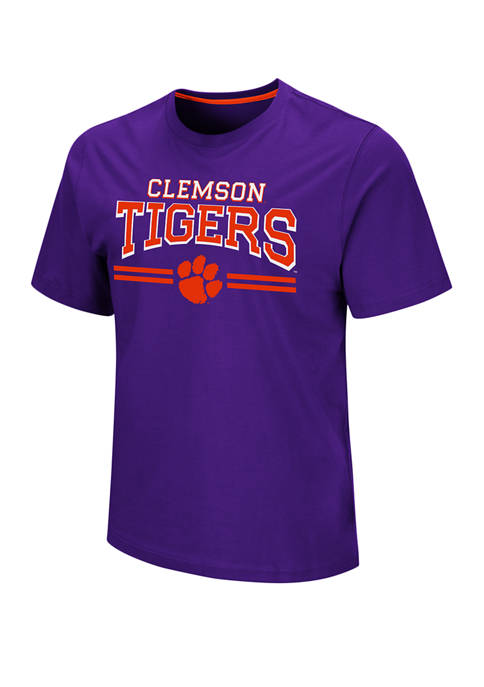 Colosseum Athletics Mens NCAA Clemson Tigers Haverford Short
