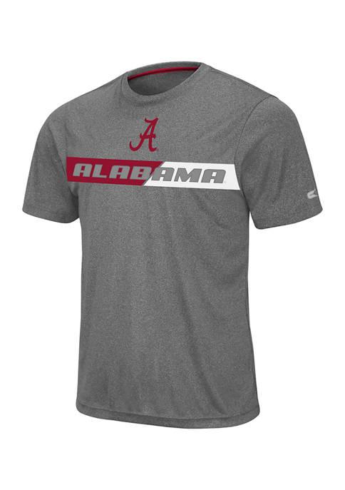 Colosseum Athletics NCAA Alabama Crimson TIde Short Sleeve