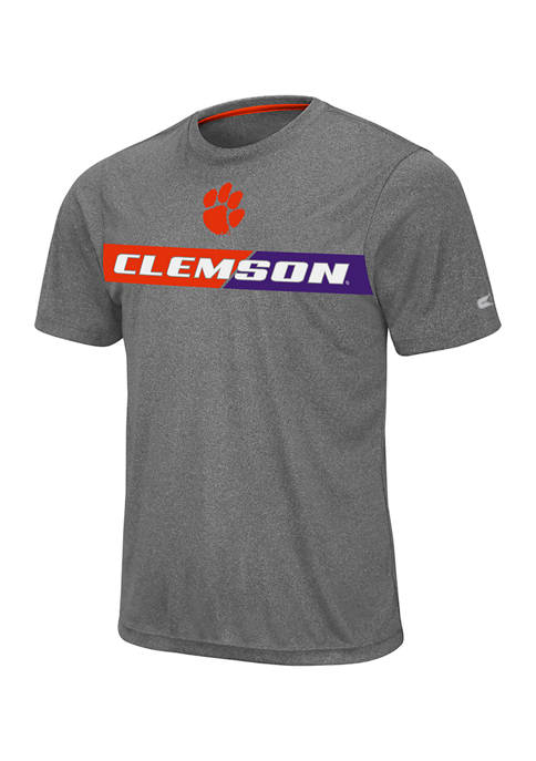 Colosseum Athletics Mens NCAA Clemson Tigers Short Sleeve