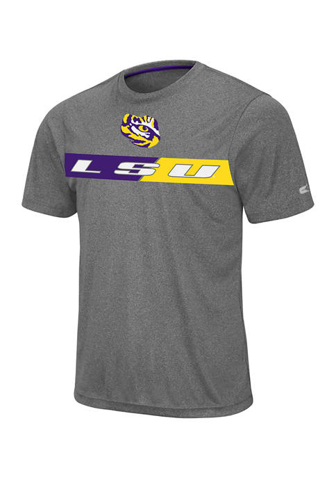 Mens NCAA LSU Tigers Short Sleeve Bait T-Shirt