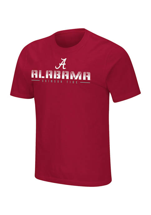 Colosseum Athletics NCAA Alabama Crimson Tide Short Sleeve