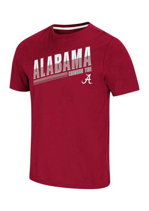 NCAA Alabama Crimson Tide Vertical Graphic T-Shirt