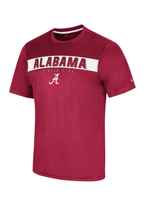 Colosseum Athletics NCAA Alabama Crimson Tide Rubberized Graphic