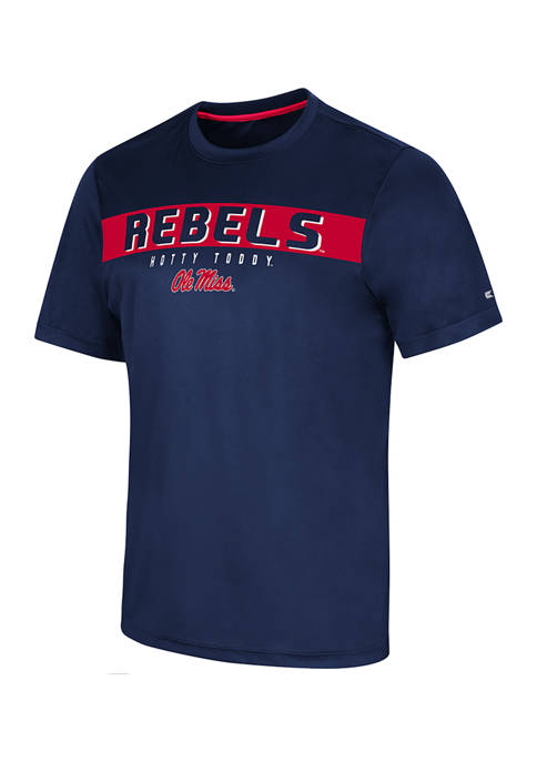 NCAA Ole Miss Rebels Mobius Short Sleeve Graphic T-Shirt