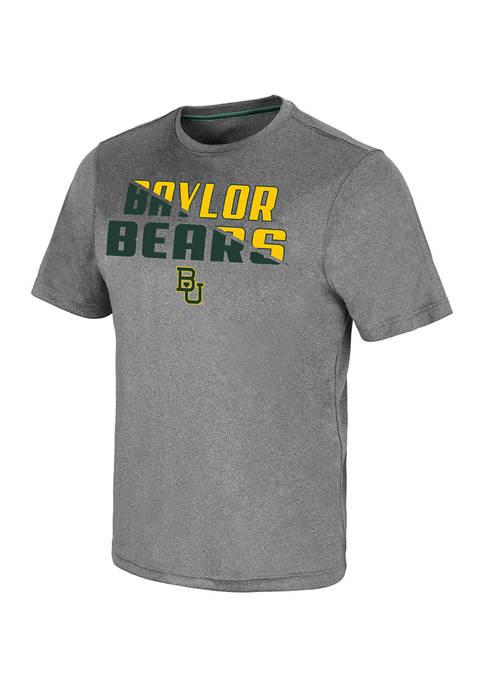 NCAA Baylor Bears Rubberized Logo Graphic T-Shirt