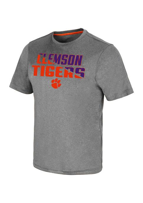 Colosseum Athletics NCAA Clemson Tigers Rubberized Logo Graphic