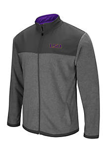 Louisiana State Tigers High Quality Full Zip Jacket