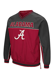 The Alabama Crimson Tide Coach Klein Windbreaker boost Roll Tide pride when you wear it on game day or anyday.