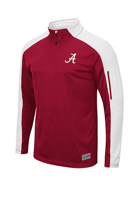 Colosseum Athletics Alabama Crimson Tide 1/4 Zip Windshirt
