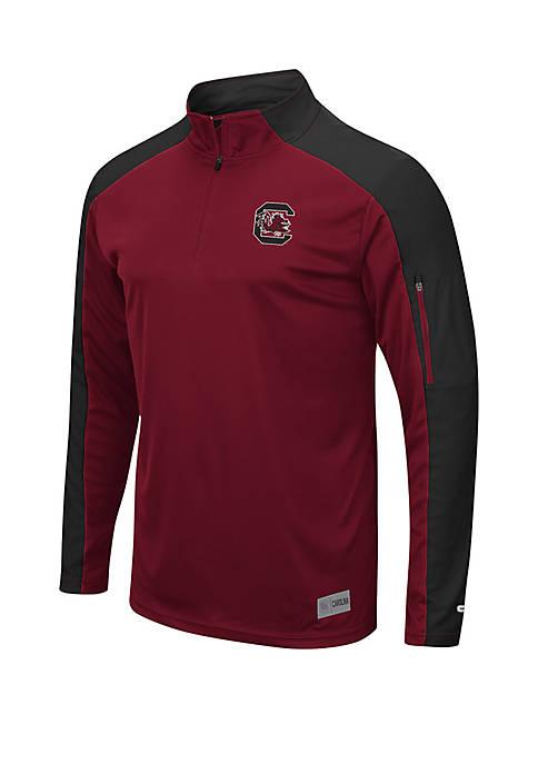 South Carolina Gamecocks 1/4 Zip Wind Shirt
