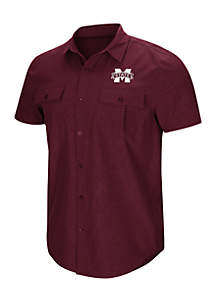 Colosseum Athletics Mississippi State Bulldogs Woven Shirt