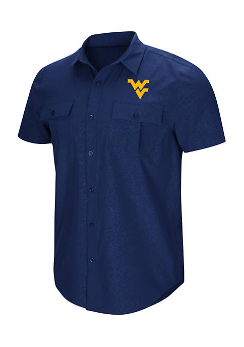 Colosseum Athletics Short Sleeve West Virginia University Roberto