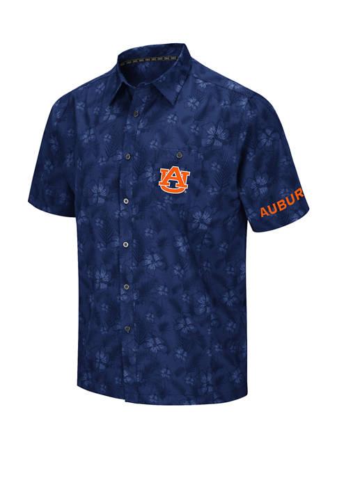Mens NCAA Auburn Tigers Molokai Camp Shirt