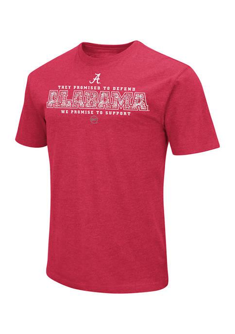 Colosseum Athletics NCAA Alabama Crimson Tide Graphic T-Shirt