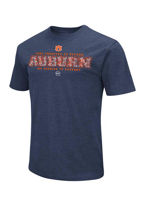 Colosseum Athletics NCAA Auburn Tigers Camouflage Graphic T-Shirt