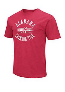 Colosseum Athletics Alabama Crimson Tide Dots Short Sleeve T Shirt
