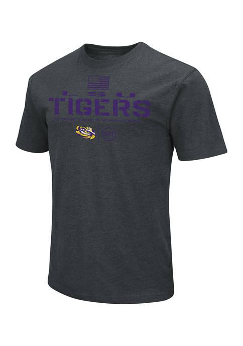 Colosseum Athletics NCAA LSU Tigers Americana Graphic T-Shirt
