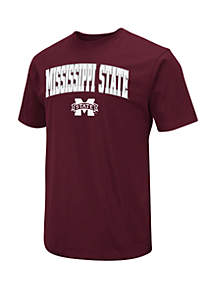 Colosseum Athletics Mississippi State Bulldogs Dots Short Sleeve T Shirt