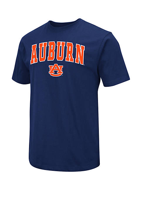 Auburn Tigers Dots Short Sleeve T Shirt