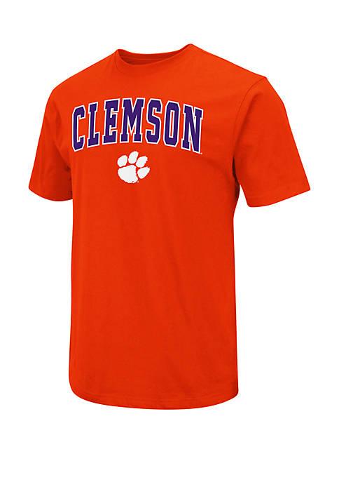 Colosseum Athletics Clemson Tigers Dots Short Sleeve Tee