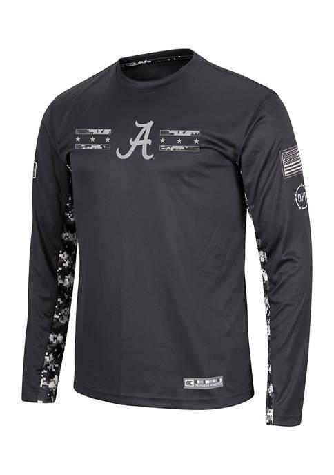 NCAA Alabama Crimson Tide Ruck Up Long Sleeve T-Shirt