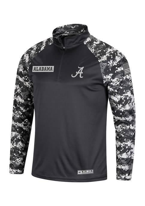 Colosseum Athletics NCAA Alabama Crimson Tide 1/4 Zip
