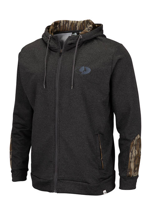 Colosseum Athletics Mossy Oak West Point Full Zip