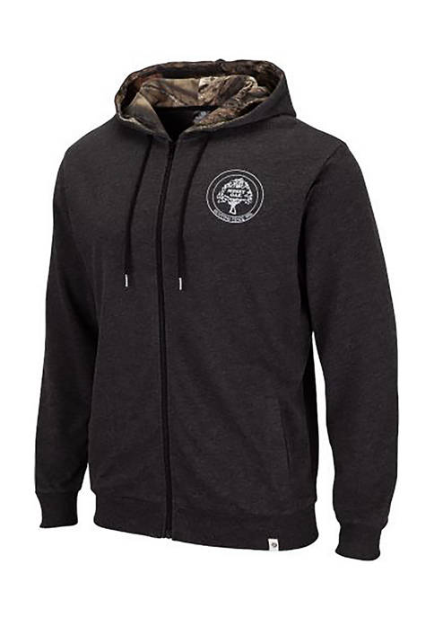Colosseum Athletics Mens Oyler Full Zip Hoodie