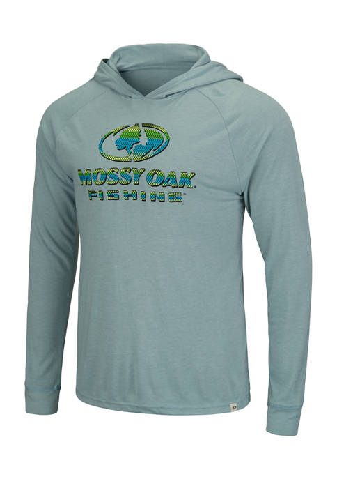 Colosseum Athletics Long Sleeve Hooded Graphic T-Shirt