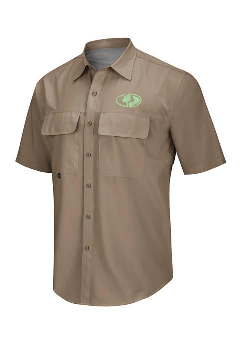 Colosseum Athletics Short Sleeve Button Down Shirt