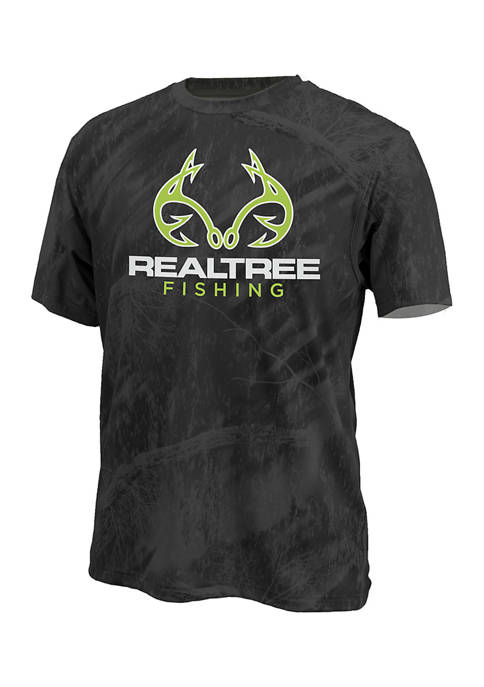 REALTREE® Realtree Camouflage Graphic Fishing T-Shirt
