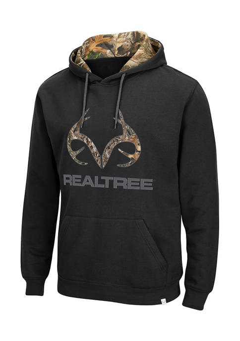 Mens Realtree® Camouflage Antler Graphic Hoodie