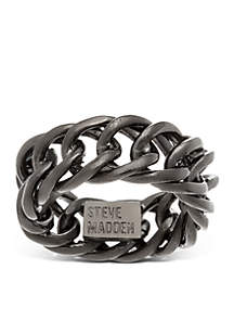 Stainless Steel Curb Chain Ring