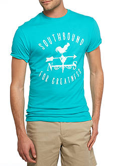 Crown & Ivy™ Short Sleeve Weathervane Graphic Tee