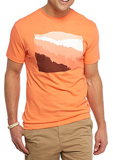 Crown & Ivy™ Short Sleeve Mountains Graphic Tee