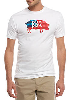 Crown & Ivy™ Short Sleeve BBQ Graphic Tee