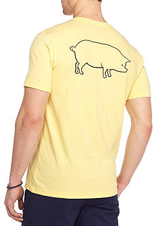 Crown & Ivy™ Short Sleeve Pig Graphic Tee