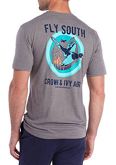 Crown & Ivy™ Short Sleeve Fly South Graphic Tee