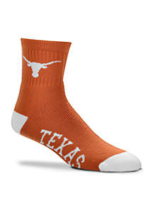 Texas Longhorns Quarter Socks